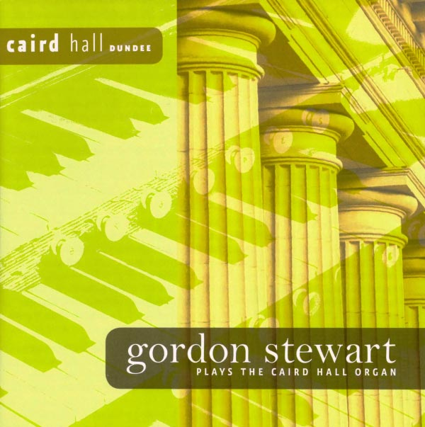 Gordon Stewart plays the Caird Hall organ